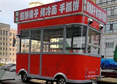 哈尔滨电动小吃车厂家---案例