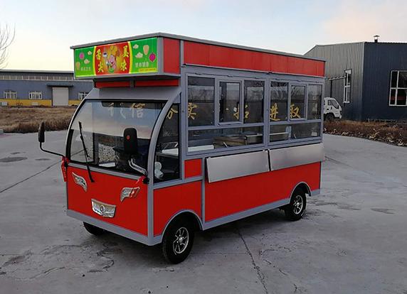 哈尔滨灯箱小吃车