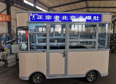 哈尔滨灯箱小吃车厂家