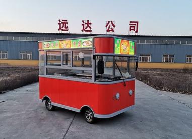 黑龙江灯箱小吃车